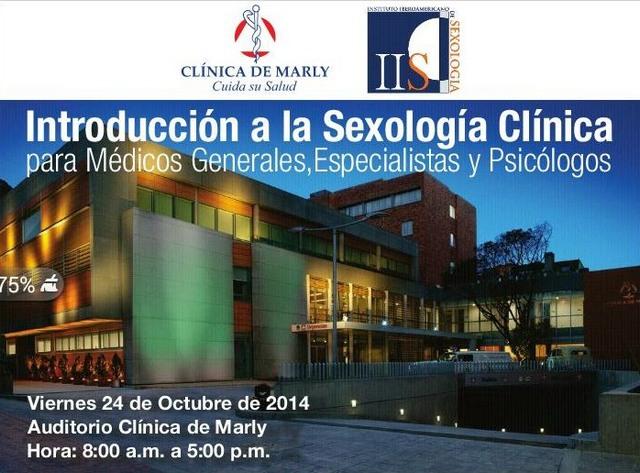 Cartel del Curso de Introduccion a la Sexologia Clinica
