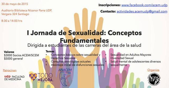 Cartel I Jornada de Sexualidad