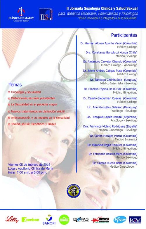 afiche II Jonada Sexología