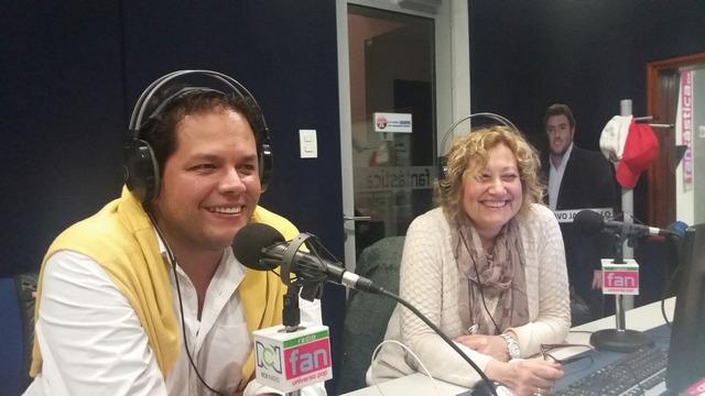 Fernando Rosero y Francisca Molero